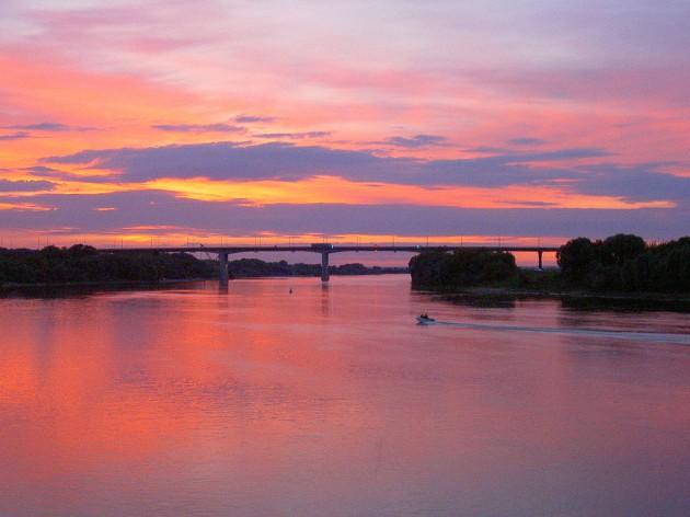 Закаты над Рязанью